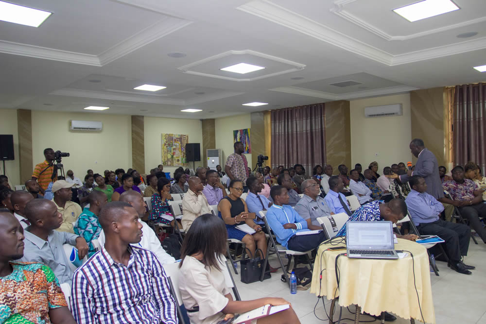 Cross section of participants (business owners) who received the training